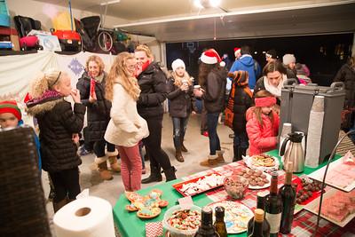 Caroling in Woodland Estates - December 2015