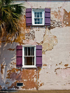 "' Windows on Chambers '' Charleston, SC  12""x16"", Luster paper (12 mil)"