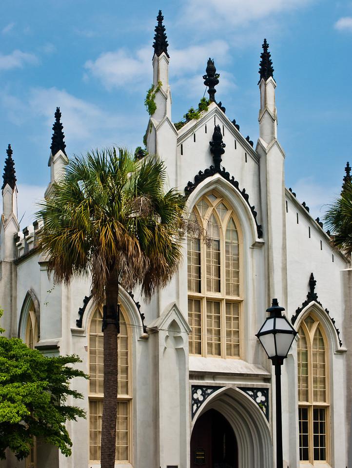 "<center><h2>' French Huguenot Church'</h2> Charleston, SC  12""x16"", Luster paper (12 mil)</center>"