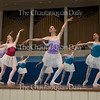 """Students at the School of Dance perform in a piece entitled  """"Czech Suite,"""" choreographed by Michael Vernon, in the Chautauqua Dance Student Gala at 2:30 PM on July 17, 2016, in the Amphitheater. The show featured the Chautauqua Festival and Workshop Dancers from the School of Dance. Photo by Carolyn Brown."""