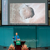 "Phil Plait, creator of Slate's ""Bad Astronomy"" blog, delivers a lecture entitled ""Death from the Skies!"" at 10:45 AM on July 18, 2016, in the Amphitheater.<br /> Plait discussed asteroid impacts and the accuracy of science fiction movies like ""Armageddon."" Photo by Carolyn Brown."