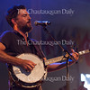 Scott Avett of The Avett Brothers performs at 8:15 PM on July 8, 2016, at the Amphitheater. The show drew a sold-out crowd.<br /> <br /> Photo by Carolyn Brown.