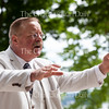 On the Athenaeum Porch on June 28, 2016, Theodore Roosevelt reenactor Joe Wiegand recounts the story of how a famous hunting trip of Roosevelt's led to the invention of the teddy bear. Wiegand delivered a lecture at the Athenaeum in the morning and the Hall of Philosophy in the afternoon.