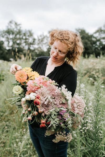 Carolyn Snell on the Farm // 2018