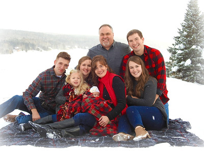 Caron Family Photos - Winter