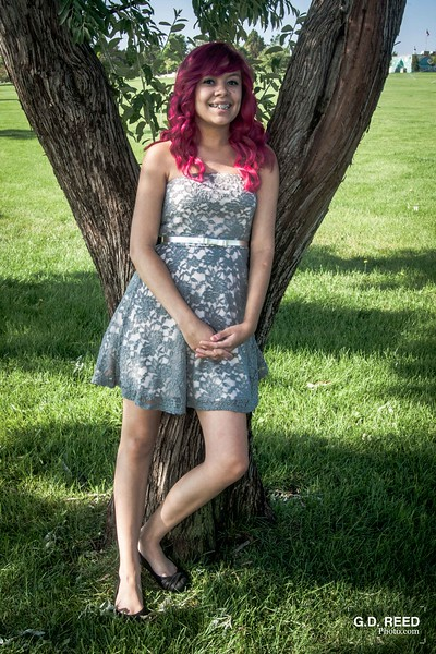 Model: Gabbie Jimenez<br /> Date Taken: August 10, 2014<br /> Location: BiCentennial Park (Aurora, Colorado)<br /> Occasion: Senior Portraits