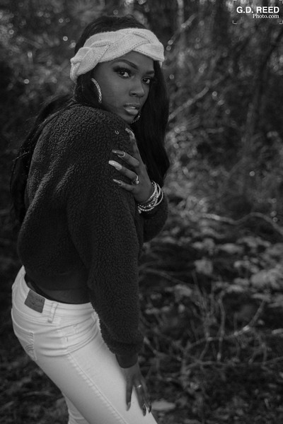 Model: Breshayla Rim<br /> Location: Arabia Mountain (Lithonia, GA)<br /> Date: January 5, 2019