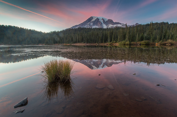 Mount Rainier from Reflection Lake