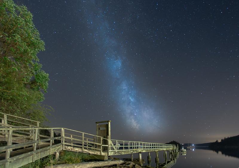 Summer Sky Over Deer Harbor, WA
