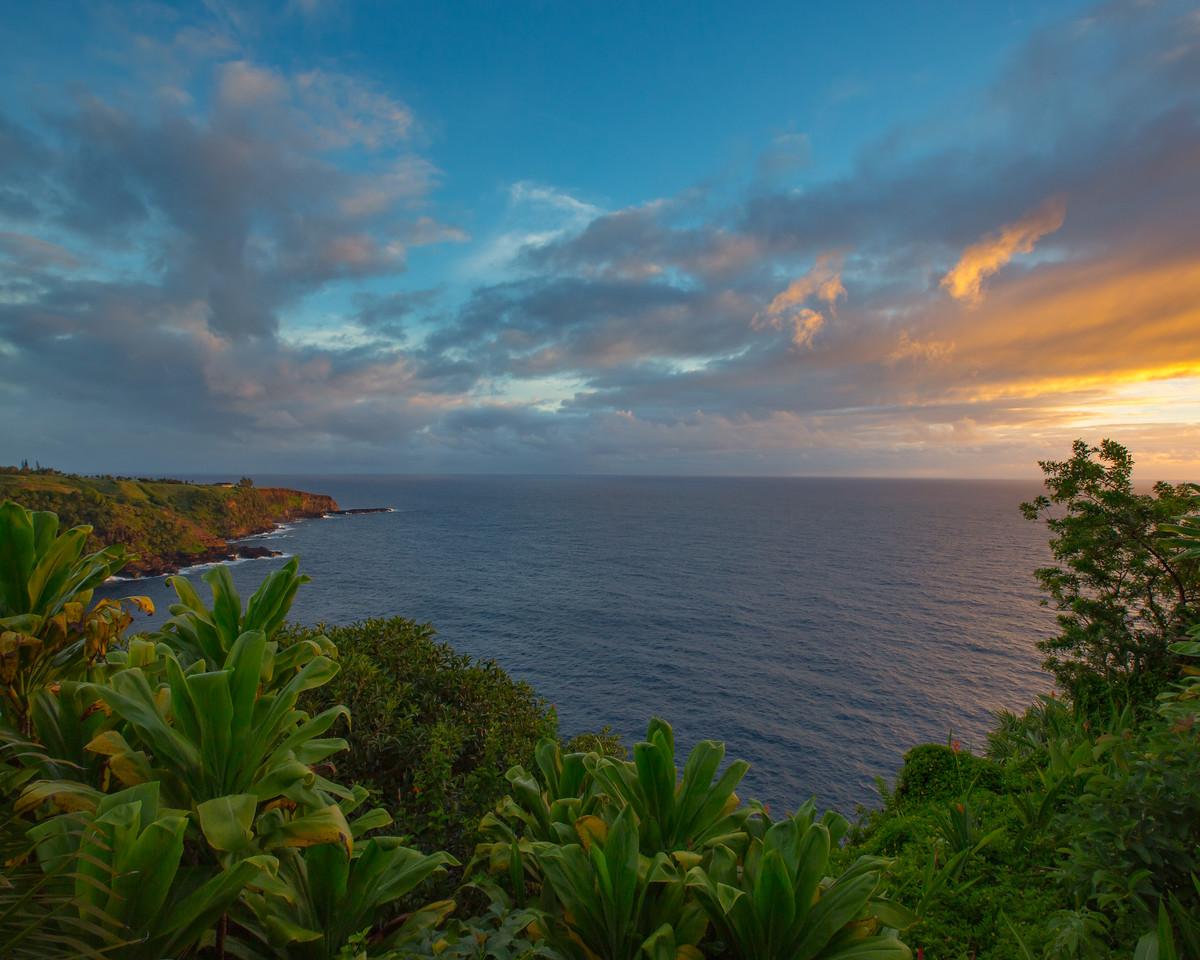 Sunrise on Maui's Northshore