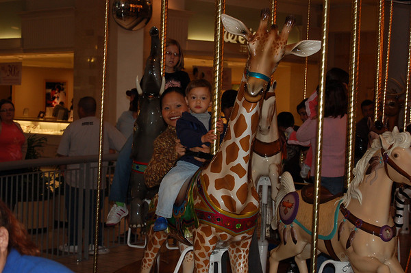 Carousel Time for Riley!