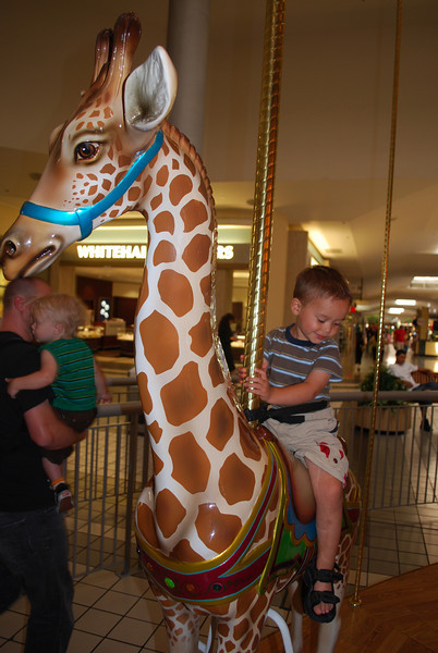 More Carousel Time for Riley!