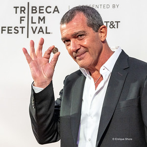 Spanish actor Antonio Banderas at world premiere of Genius:: Picasso at New York