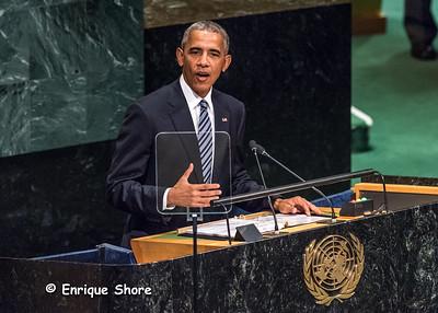 US President Obama addresses 71st United Nations General Assembly