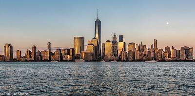 Manhattan Skyline from New Jersey