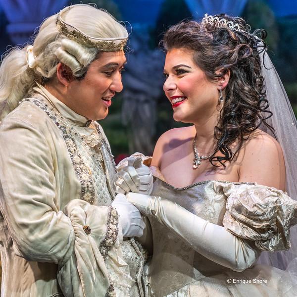 Mezzo-Soprano Martinucci and Tenor Kim perform Rossini's opera La Cenerentola in New York