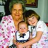 Great Grandmother Lessie Stultz,  William Lucero, Meaghan Carpenter  6-24-98