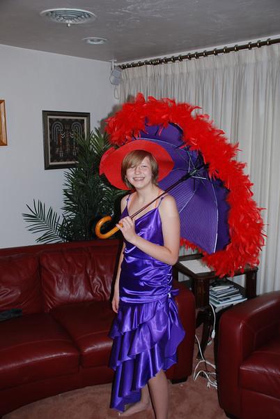 Margaret Purple Dress 2013