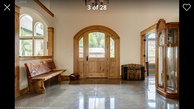 Original Entry Door Detail