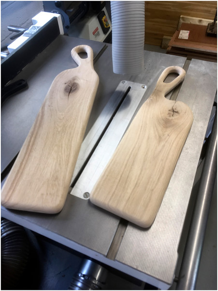 French Oak platters