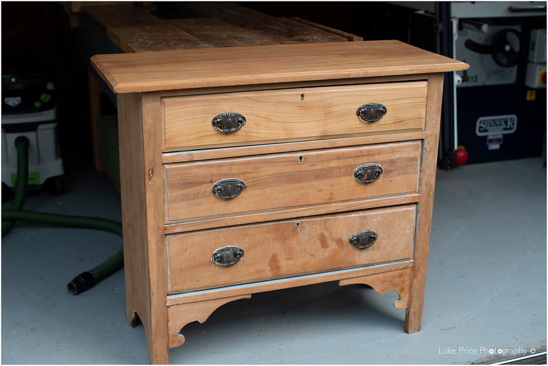 Reconditioned Cherry chest of drawers