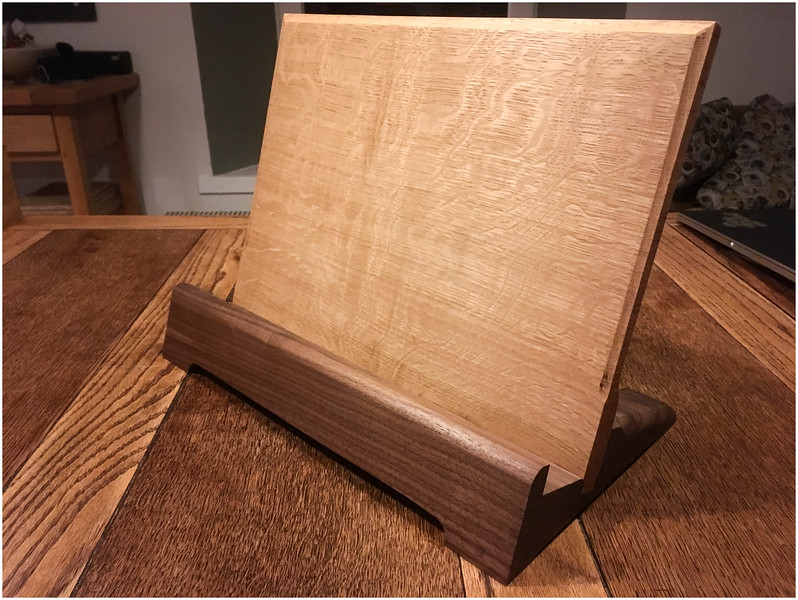 Cookery Book Stand - Finished piece