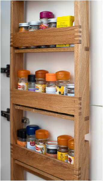 Spice Rack with box joints