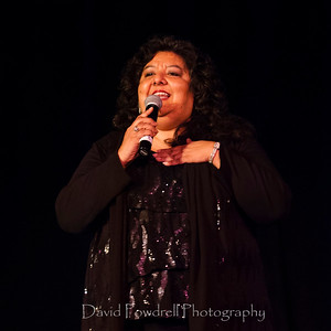 Victoria Leon sang the 1944 hit 'Is You or Is You Not My Baby' by Louis Jordan and Billy Austin  The Rotary Talent Show at the Plaza Playhouse Theater in Carpinteria, Calif. on Saturday, February 22, 2014.