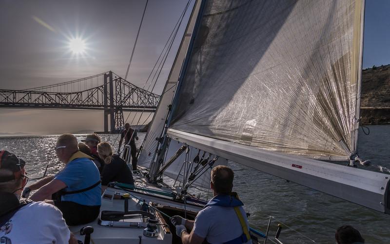 Racing Toward The Bridge