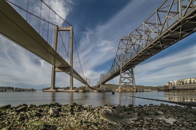 Under The Carquinez Bridges