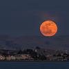 Moonrise Over Benicia