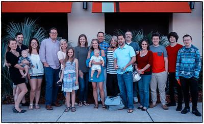 Happy Family at Carrabba's Orange Park, FL April 8, 2017