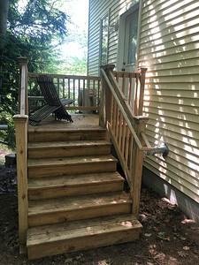 Deck & Door to Guest Studio