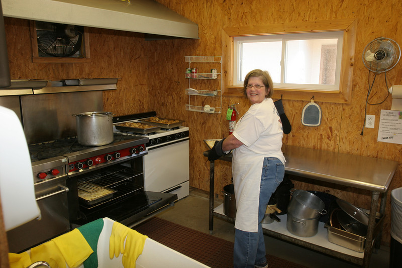 Cooking area of kitchen.  This is Bettye