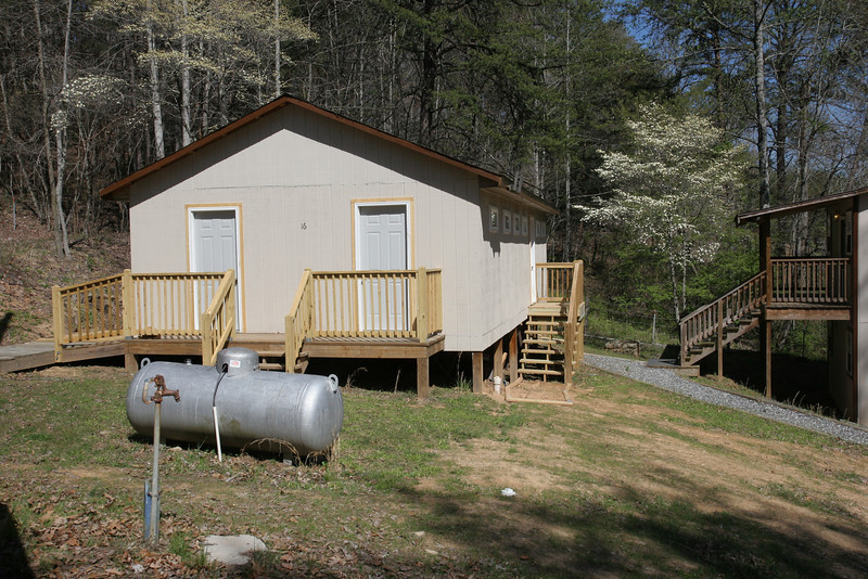 Family cabins, not finished yet