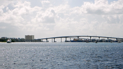 Bridge from Nassau to Paradise Island, New Providence, Bahamas
