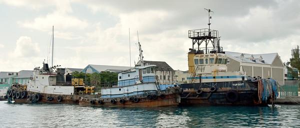 Tugboats, Nassau, New Providence, Bahamas