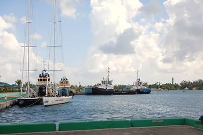 Racing yachts- Nassau, New Providence, Bahamas