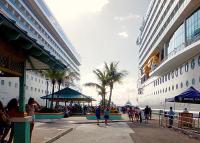 At port, Nassau, New Providence, Bahamas