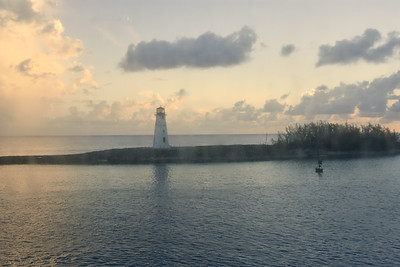 Nassau Harbor Lighthouse,  Bahamas