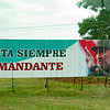 Castro propaganda billboard along the Autopista