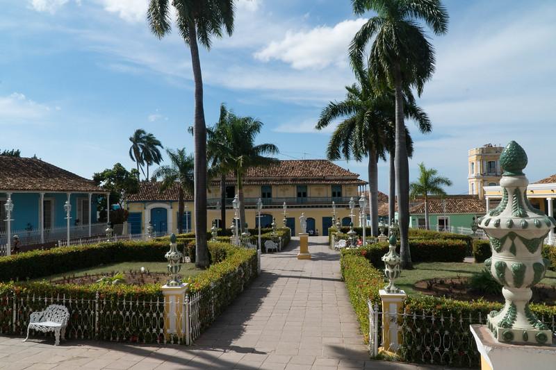 Plaza Mayor in Trinidad de Cuba