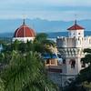 Palacio de valle as seen from the Hotel Jagua in Cienfuegos