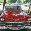 Classic Chevy taxi at Revolution Square, Havana