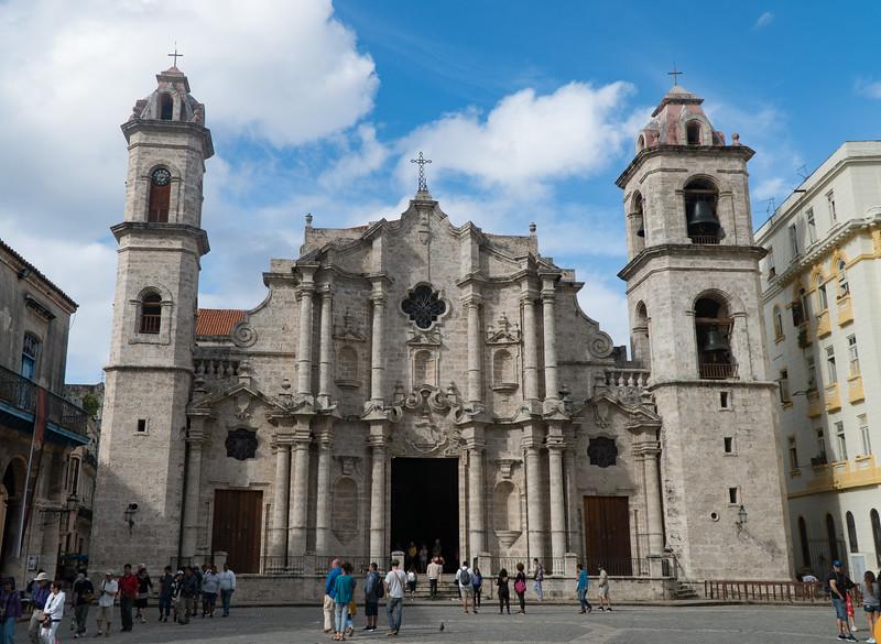 Cathedral San Cristobal in Havana