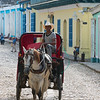 Horse drawn carriage in Trinidad de Cuba