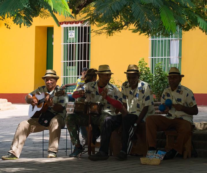 Street musicians, Trinidad de Cuba