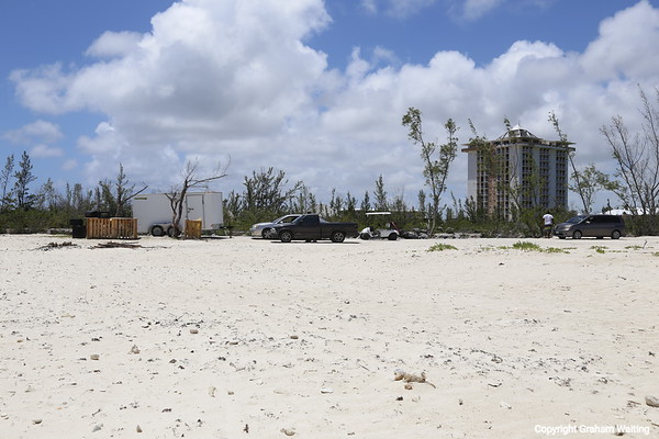 Damage from hurricane Mathew in 2016 is still evident in May 2017 throughout the island