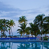 Pool overlooking the ocean at the Wyndham Hotel, Nassau, Bahama