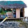 Beach bar on Cat Island, Bahama